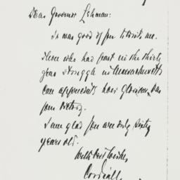 Letter: 1938 April 10