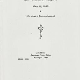 Ephemera: 1940 May 16