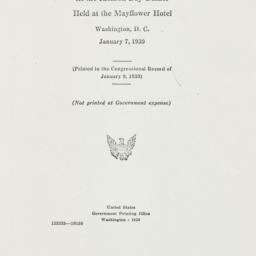 Ephemera: 1939 January 9