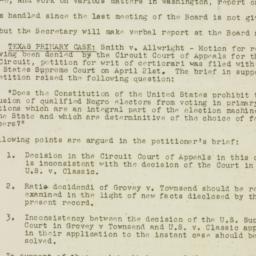 Administrative Record: 1943...