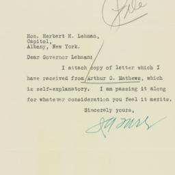 Letter: 1932 November 1
