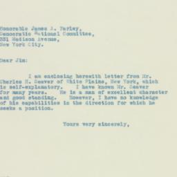 Letter: 1932 July 12
