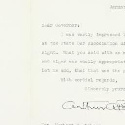 Letter: 1938 January 24