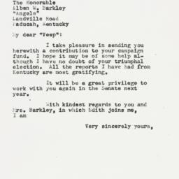 Letter: 1954 September 27