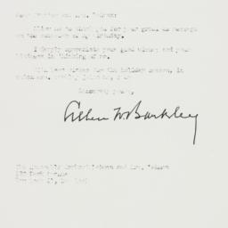 Letter: 1952 December 15