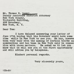Letter: 1937 July 5