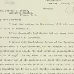 Letter: 1934 January 31