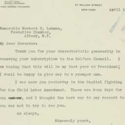 Letter: 1936 April 1