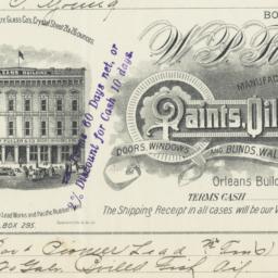 W.P. Fuller & Co.. Bill