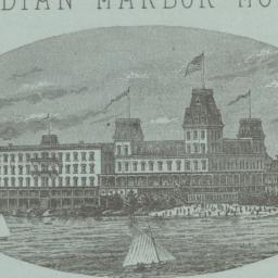 Indian Harbor Hotel. Letter