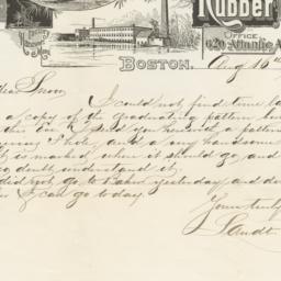 E. H. Clapp. Letter