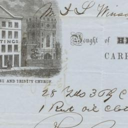 Henry Pettes & Co.. Bill