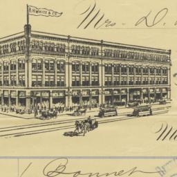 R. H. White & Co.. Bill