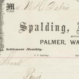 Spalding Hay & Wales. Bill