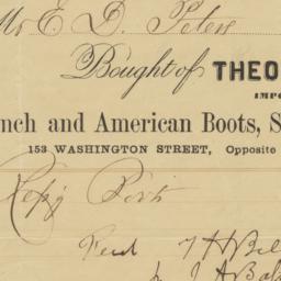 Theodore H. Bell. Bill