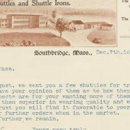 Litchfield Shuttle Co.. Letter