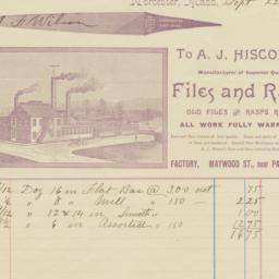 A. J. Hiscox. Bill