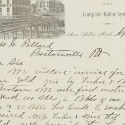 J. M. Swift & Co.. Letter