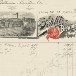 Jos. Schlitz Brewing Co.. Bill
