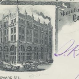 Peycke Bros. Co.. Envelope