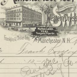 Manchester Beef Co.. Bill