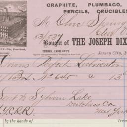 Joseph Dixon Crucible Compa...