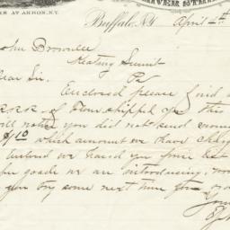 E. J. Newman & Co.. Letter