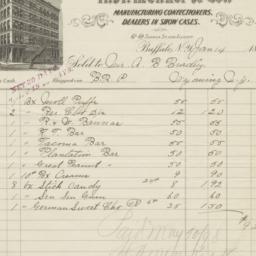 H. A. Menker & Co.. Bill