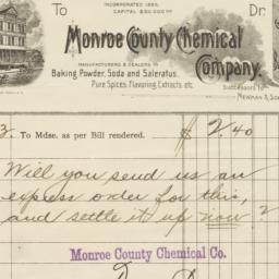 Monroe County Chemical Comp...