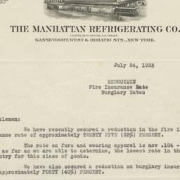 Manhattan Refrigerating Co....