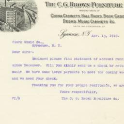 C. G. Brown Furniture Co.. ...