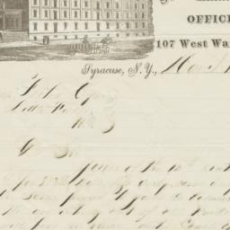 J. W. Barker & Co.. Letter