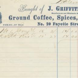 J. Griffiths. Bill