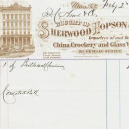 Sherwood Hopson & Co.. Bill