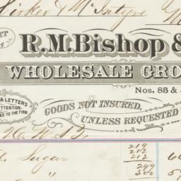 R. M. Bishop & Co.. Bill
