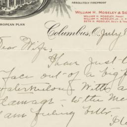 Southern Hotel. Letter