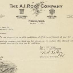 A. I. Root Company. Letter