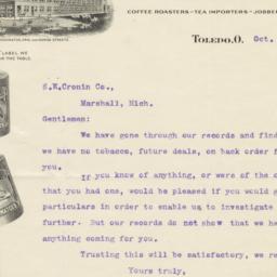 Berdan & Company. Letter