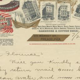 Hoffman, Corkran & Co.. Letter