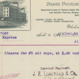 J. E. Lonergan & Co.. Bill