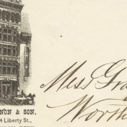 Wm. T. Shannon & Son. Envelope
