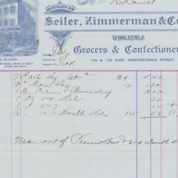 Seiler, Zimmerman & Co.. Bill