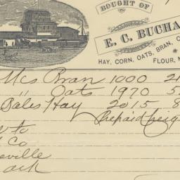 E. C. Buchanan & Co.. Bill