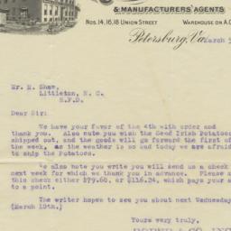 Roper & Company. Letter