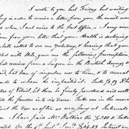 Document, 1809 January 13