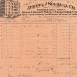 Jewett and Sherman Co.. Bill