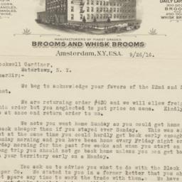 Pioneer Broom Company Inc.....