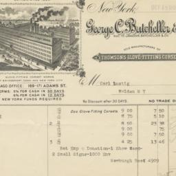 George C. Batcheller & Co.....