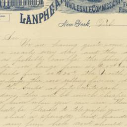 Lanphear & Haff. Letter