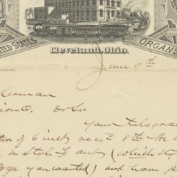 Whitney, Raymond & Co.. Letter